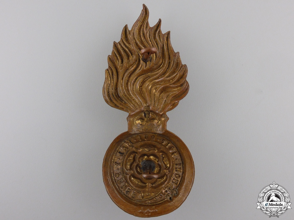A First War Royal Fusiliers Badge