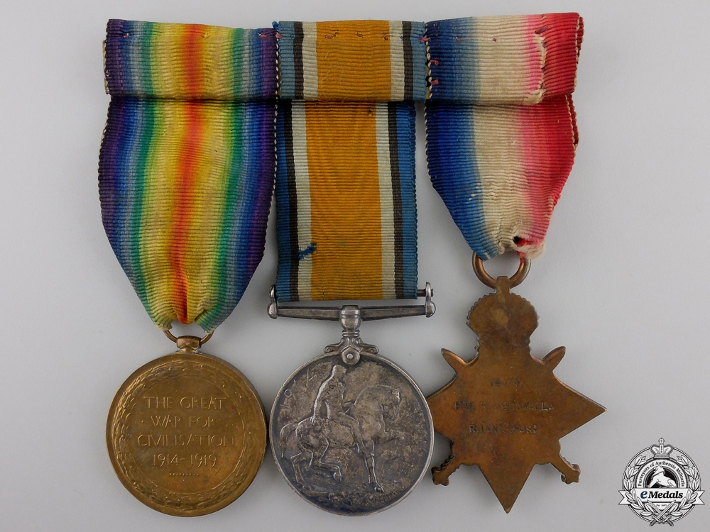 A First War Group to the Royal Inniskilling Fusiliers