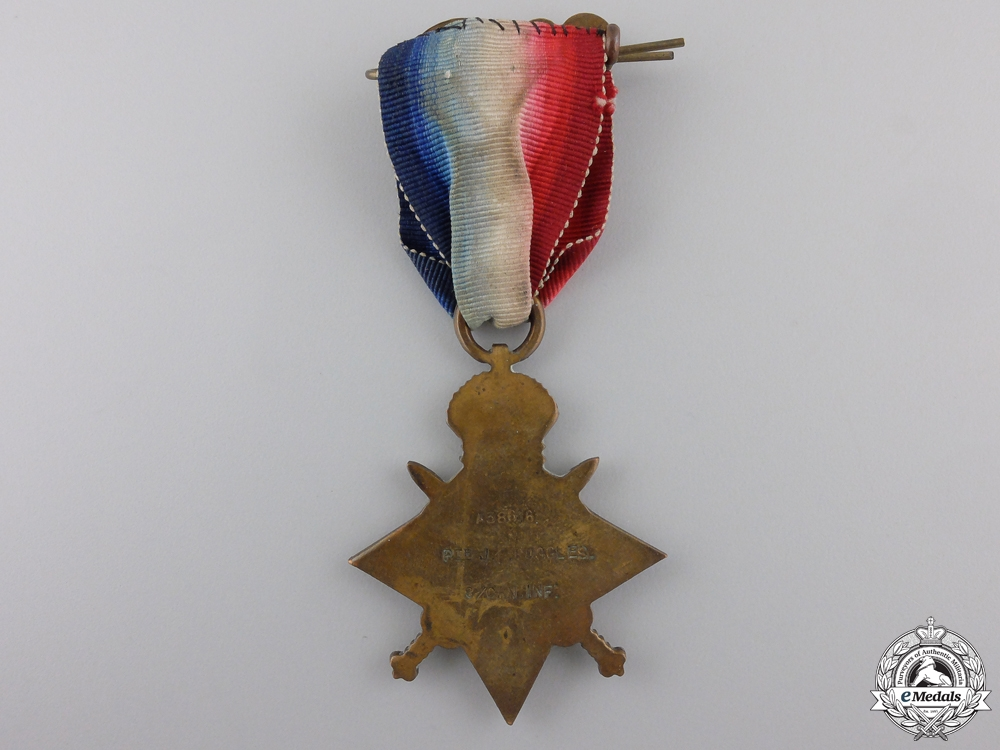 """A 1914-15 Star to the """"Little Black Devils"""""""
