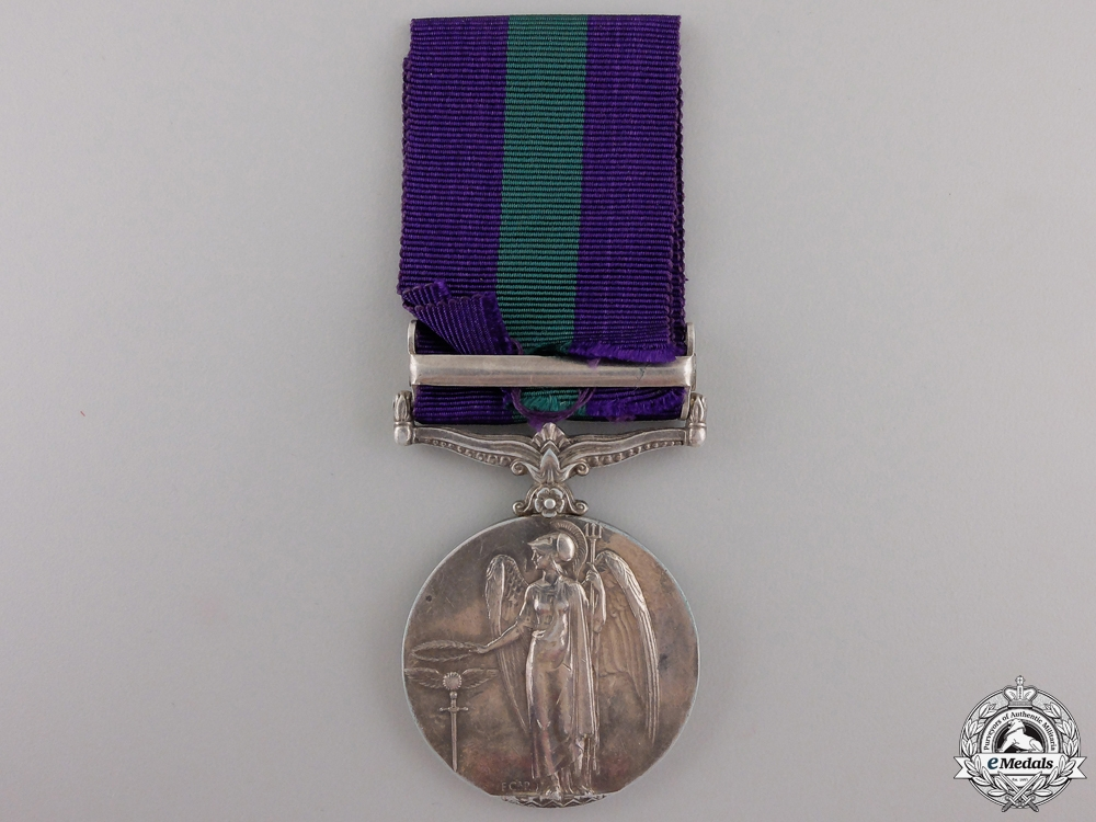A General Service Medal to the 67th Punjabis Regiment