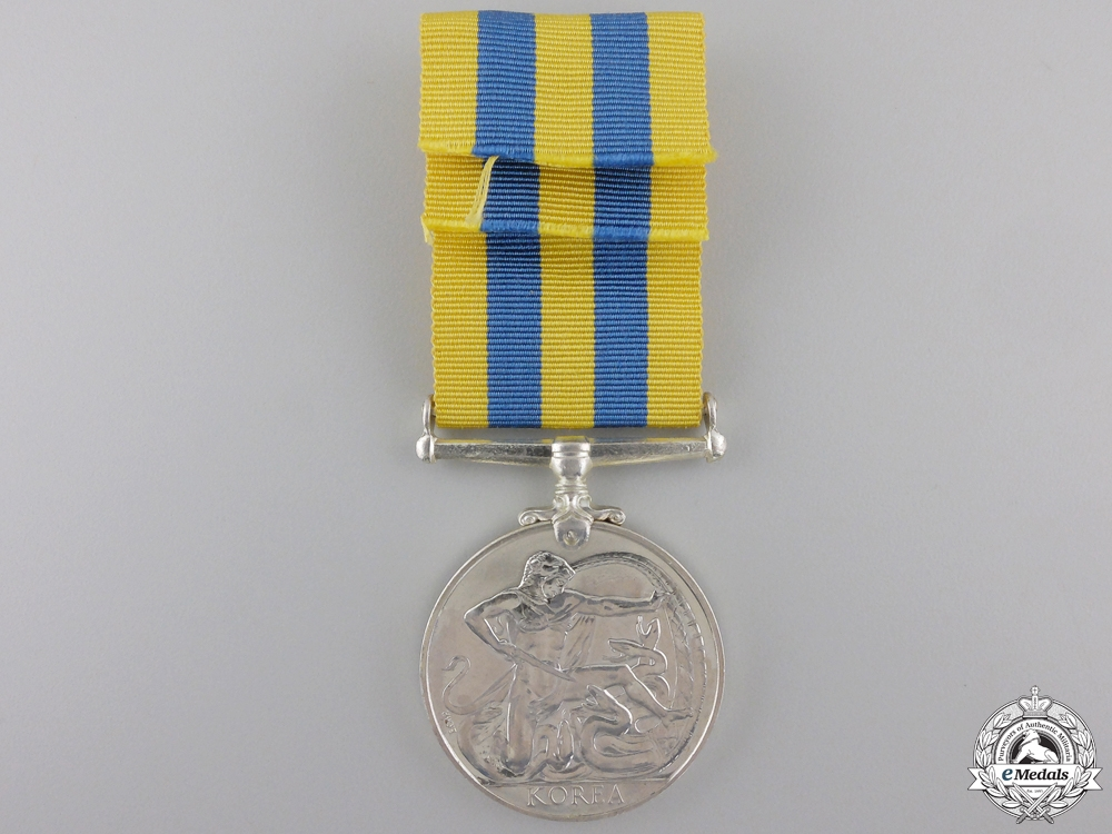 A Canadian Korean Service Medal; Unnamed