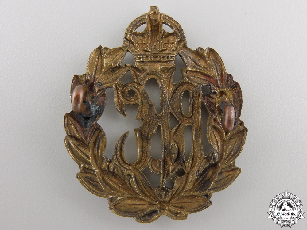A First War Royal Flying Corps (RFC) Cap Badge