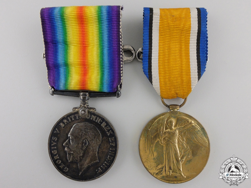 A First War Medal Group to the 54th Canadian Infantry