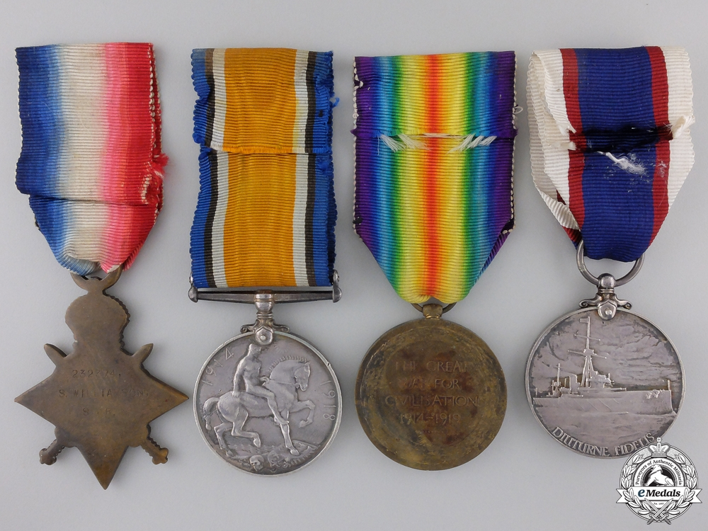A First War British Naval Group to the Royal Navy