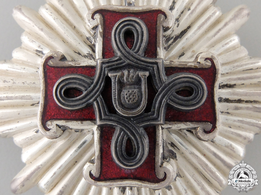 A Croatian Order of Merit; 1st. Class Cross, Christian Version