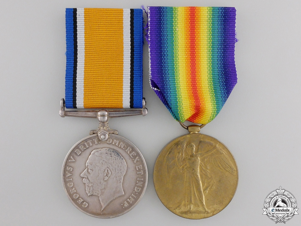 A First War Pair to the 7th South African Infantry