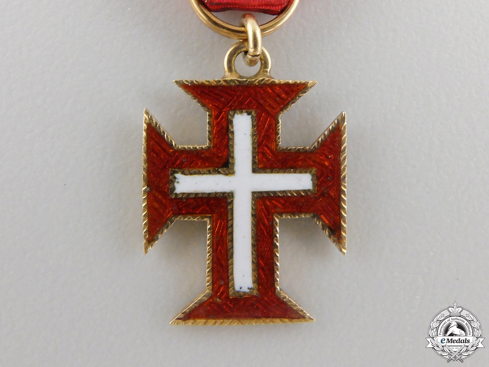 A Miniature Portuguese Military Order of Christ