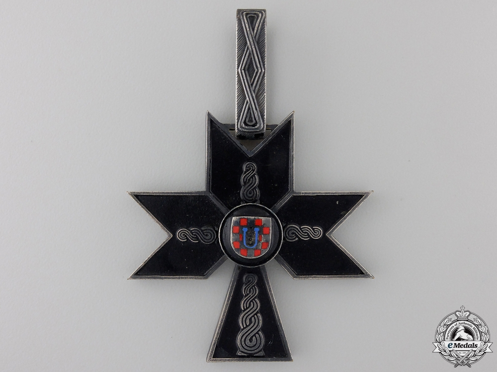 A Croatian Order of the Iron Trefoil; First Class
