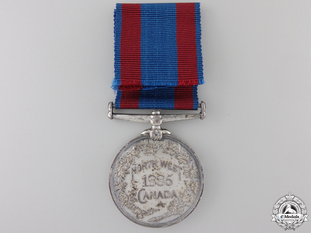 A 1885 North West Canada Medal to the 95th Manitoba Grenadiers  Con #41