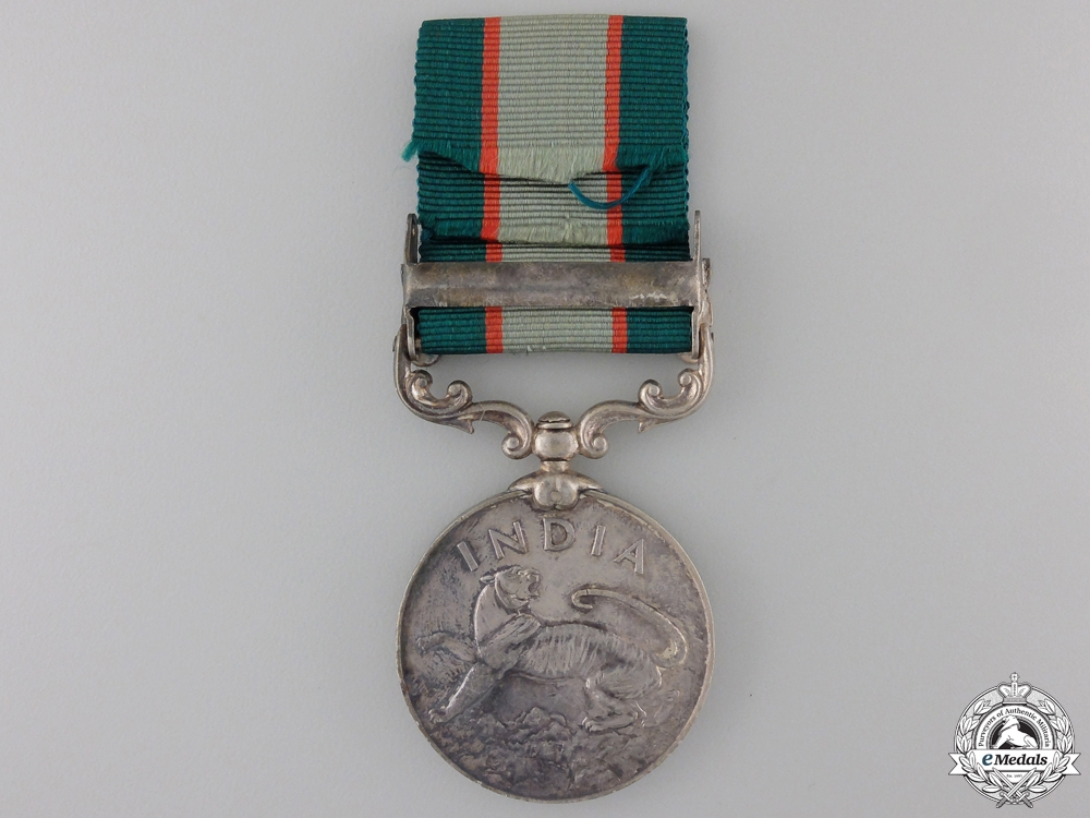 An India General Service Medal to the 3/10 Baluch Regiment