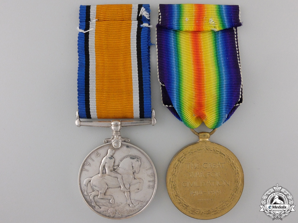 A First War Pair to the Army Service Corps