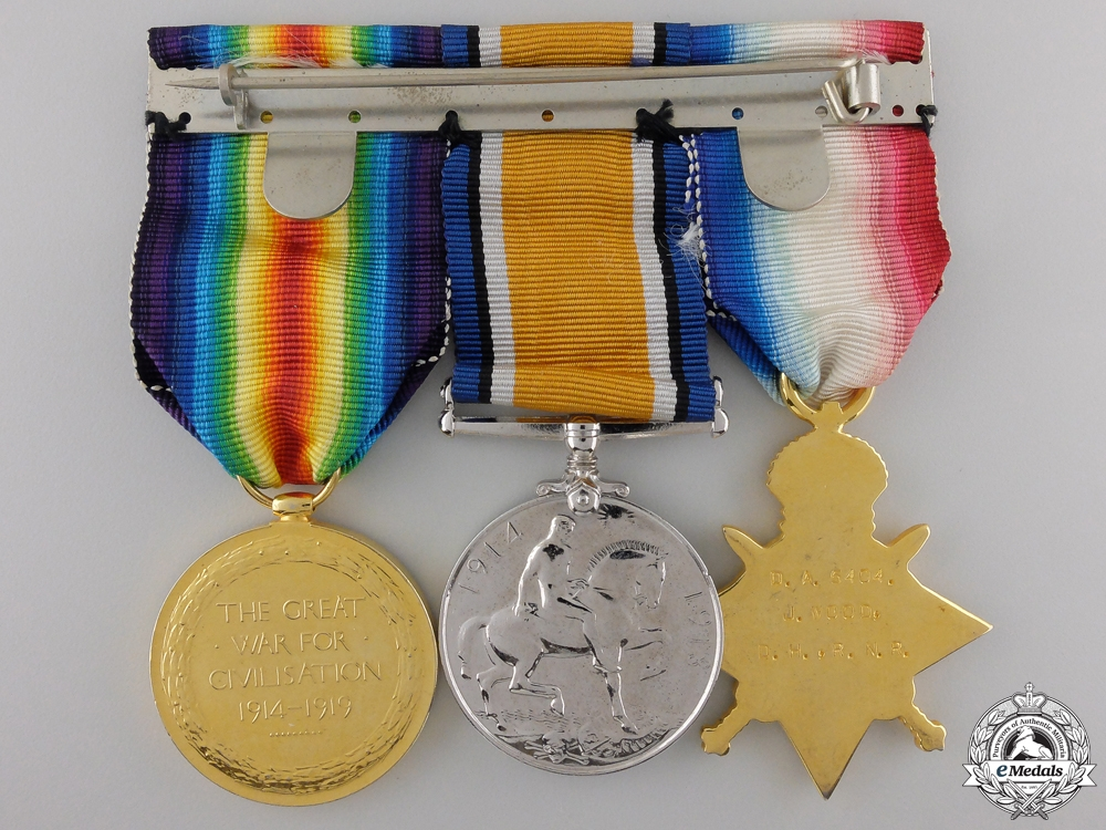 A First War Trio to the Royal Naval Reserve