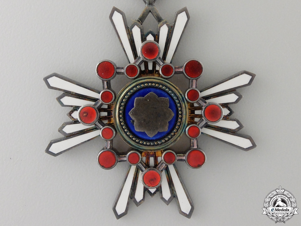A Japanese Order of The Sacred Treasure; Fourth Class
