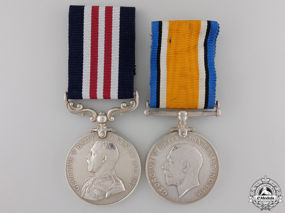 A Military Medal to the CMGC for the Defence of the Somme 1918