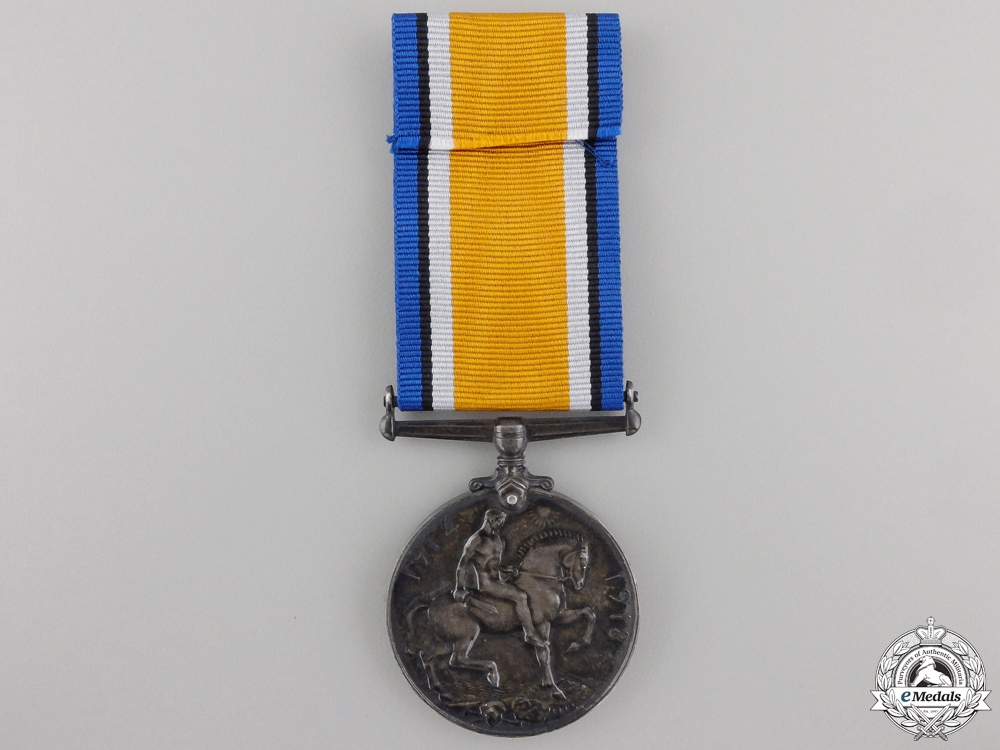 A 1914-18 War Medal to the Canadian Railway Troops