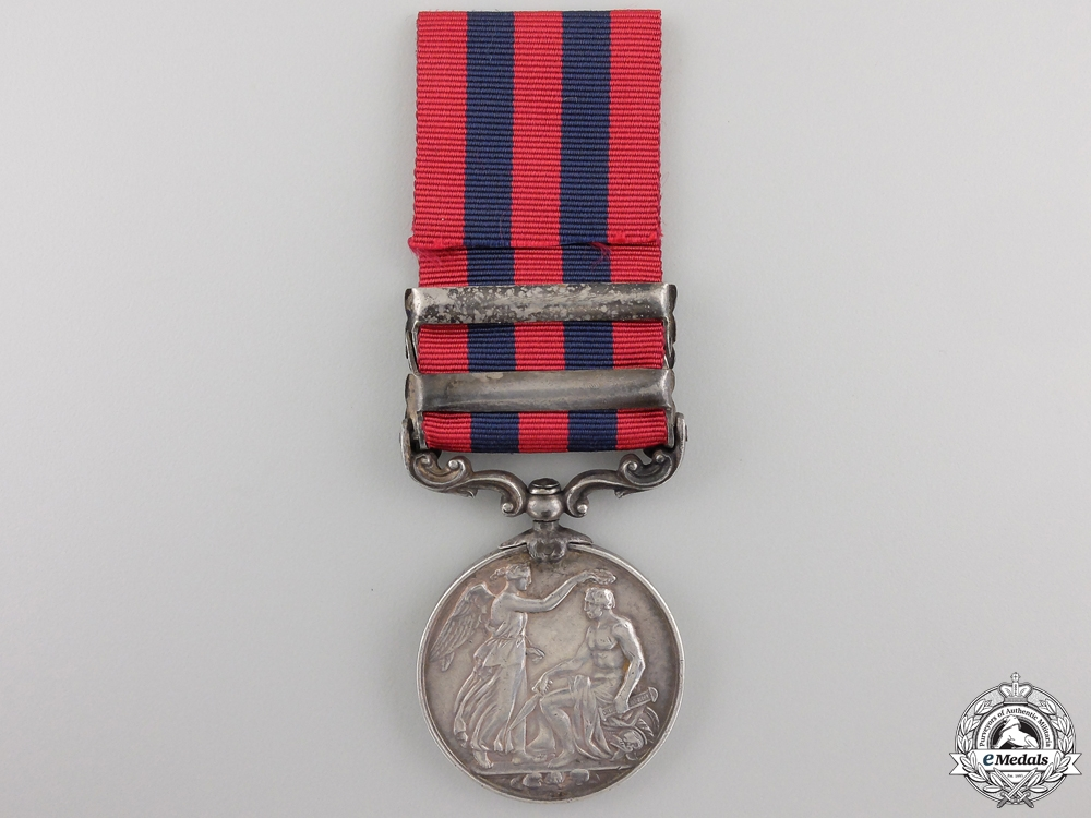 An India General Service Medal 1854 to the Burma Military Police
