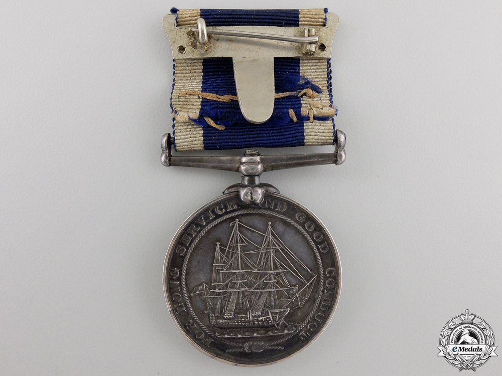 A Royal Naval Long Service & Good Conduct Medal to the Roya Marine Artillery