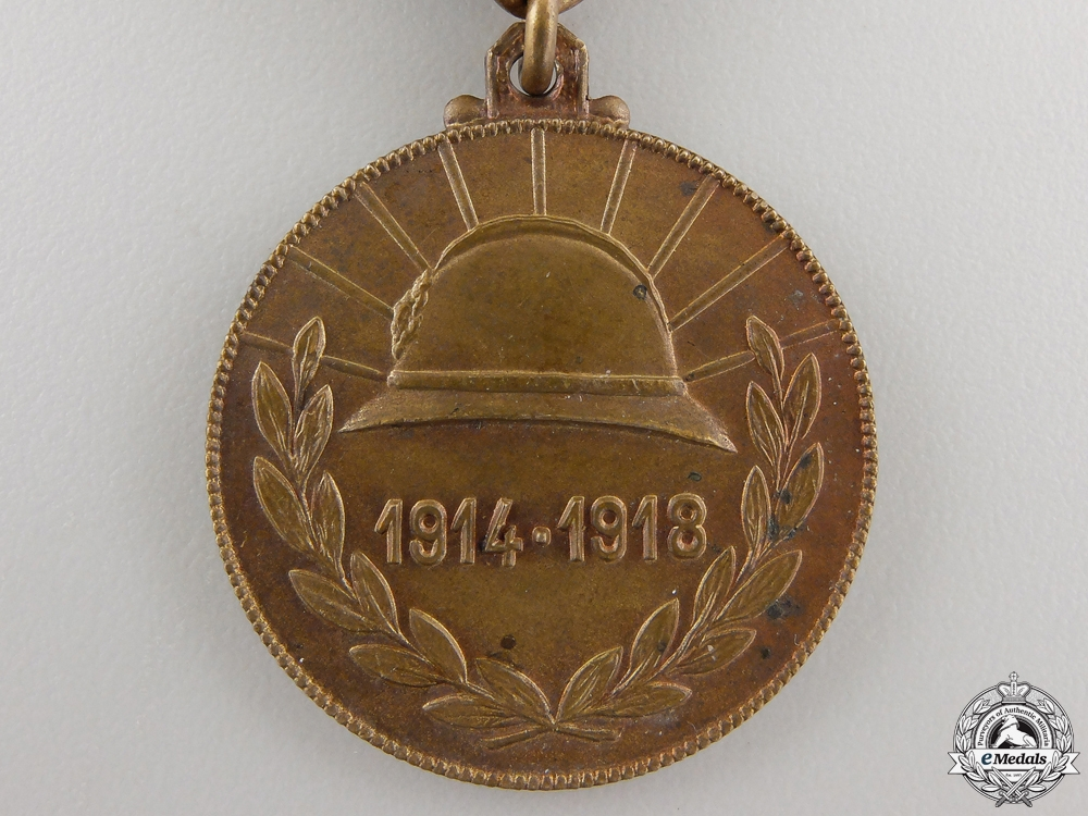 A Belgian City of Gent (Ghent) Medal for the Veterans of 1914-1918
