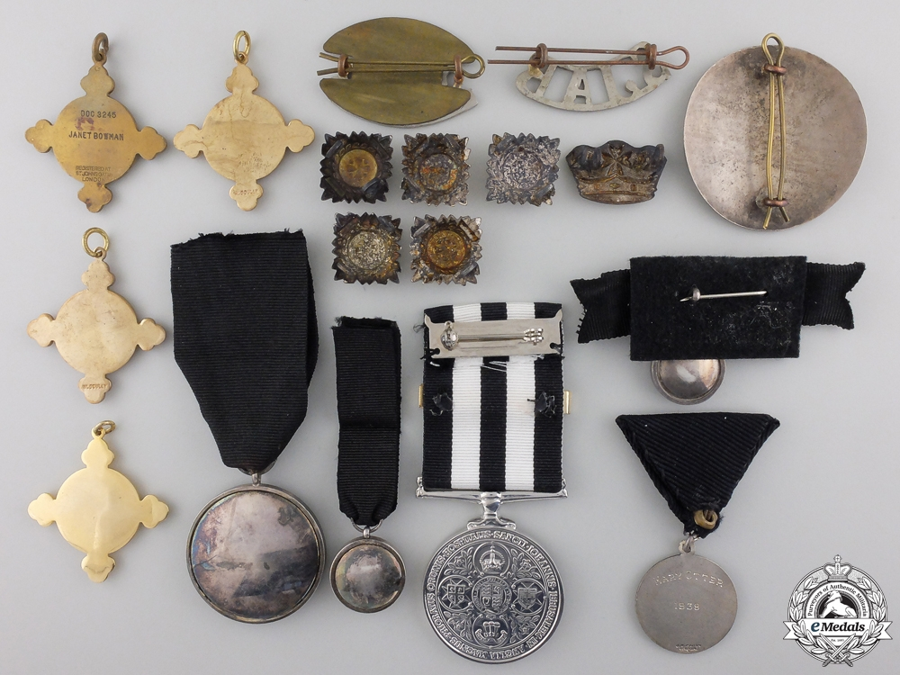 Eighteen Order of St. John Medals and Insignia