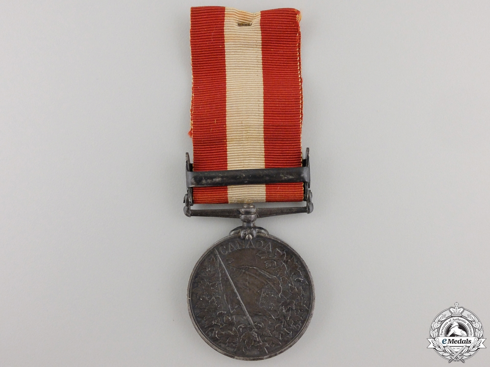 A Canada General Service Medal to the 1st Administrative Battalion
