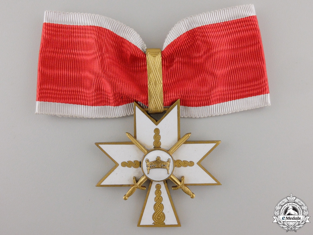 A Croatian Order of King Zvonimir; Military Division 1st Class with Case