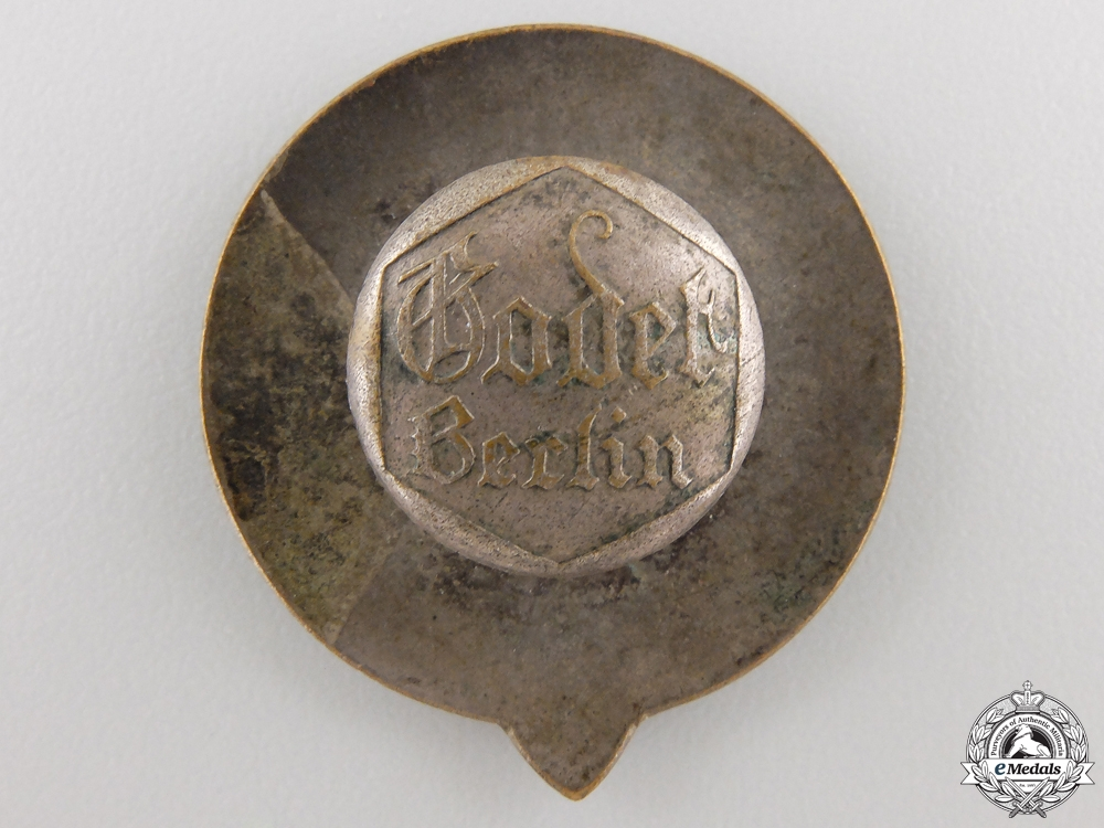 A Central Association for Breeding and Testing German Horses Badge