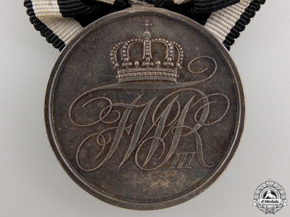 A Prussian Military Merit Medal; 2nd Class