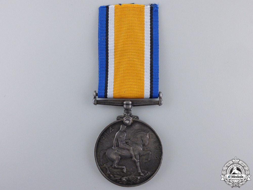 A 1914-1918 War Medal to the Canadian Engineers; RNWMP