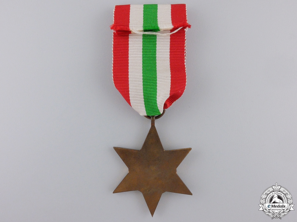 A Mint Second War Italy Campaign Star