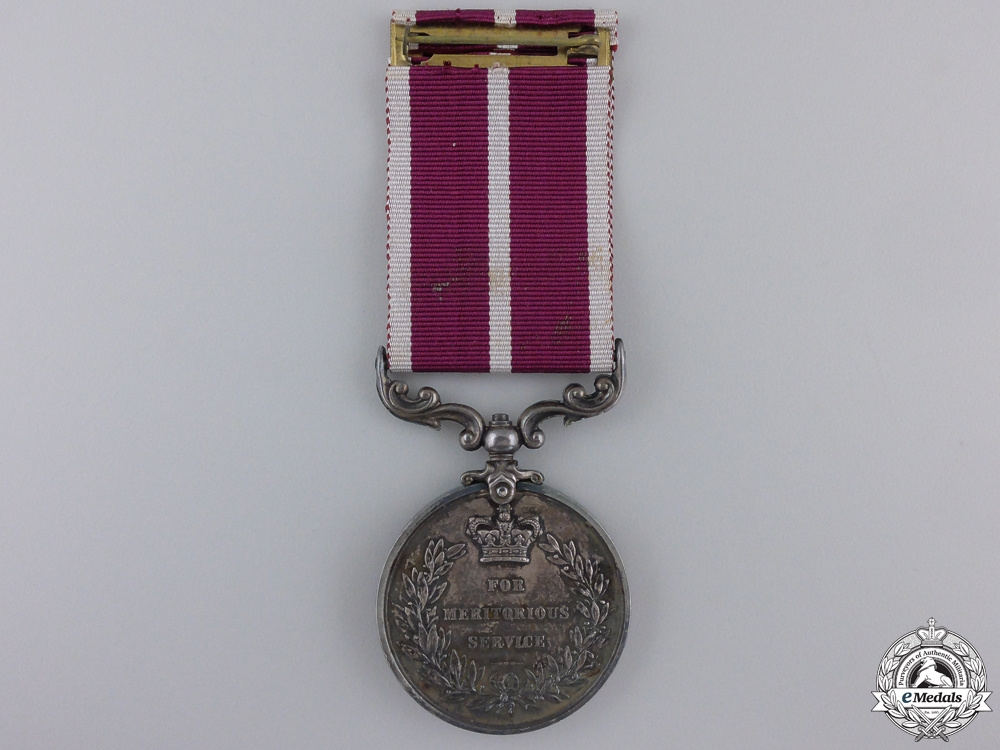 A Meritorious Service Medal to Temporary Mechanist Serjeant Major  E, 3 JUNE, 191