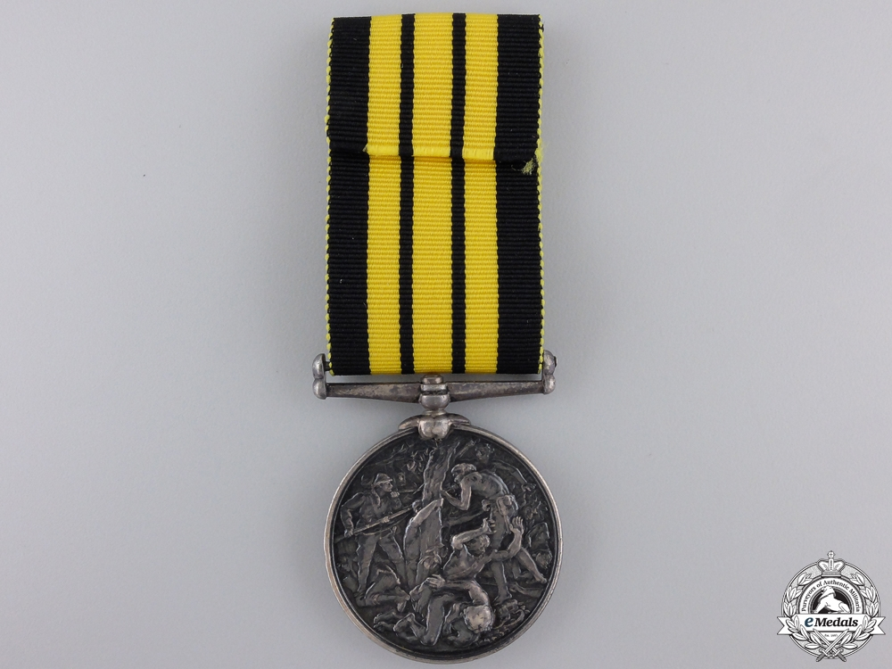 An 1874 Ashantee Medal to the Royal Engineers