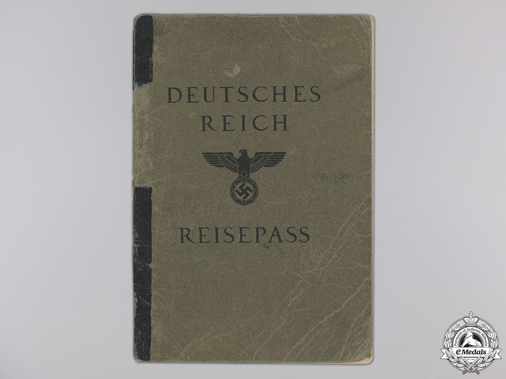 A Deutche Reisepass; Chinese Consulate
