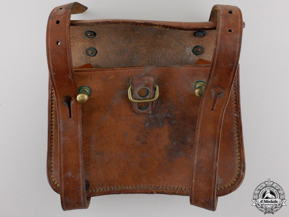 A First War Canadian Cavalry Pouch