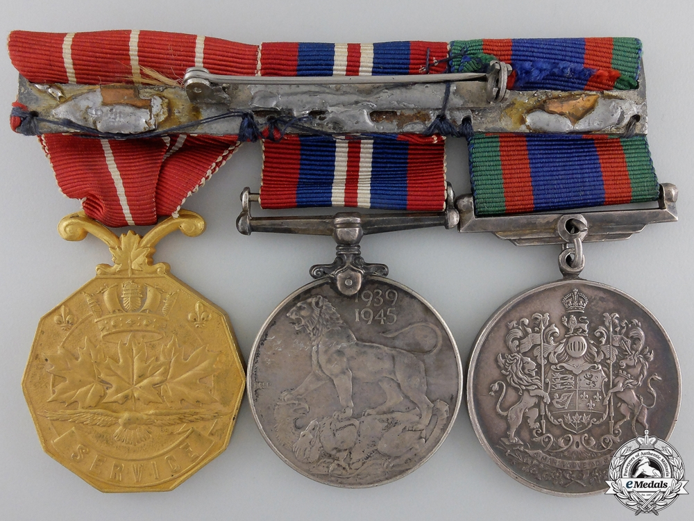 A Second War & Forces Decoration Group to the RCAF