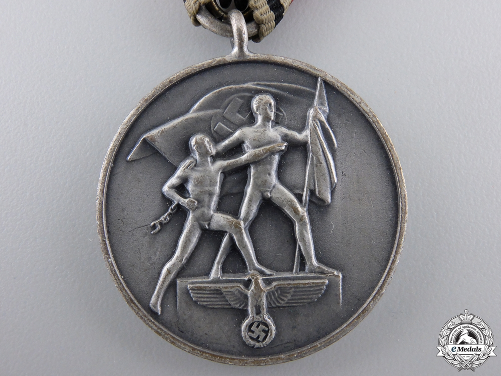 A 13 March 1938 Commemorative Medal