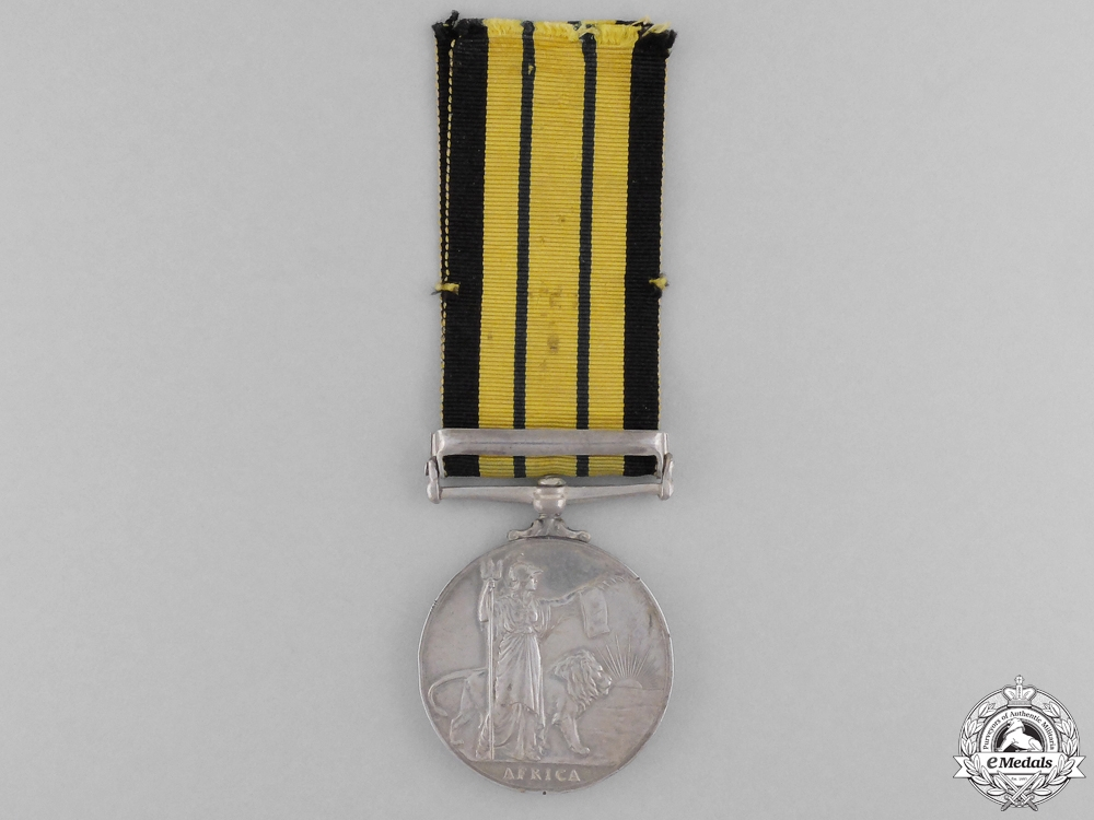 An Africa General Service Medal 1902-56 for Kenya