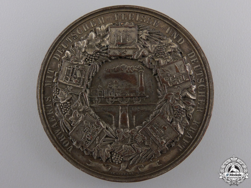 An 1844 Berlin Commercial and Industrial Exhibition Medal
