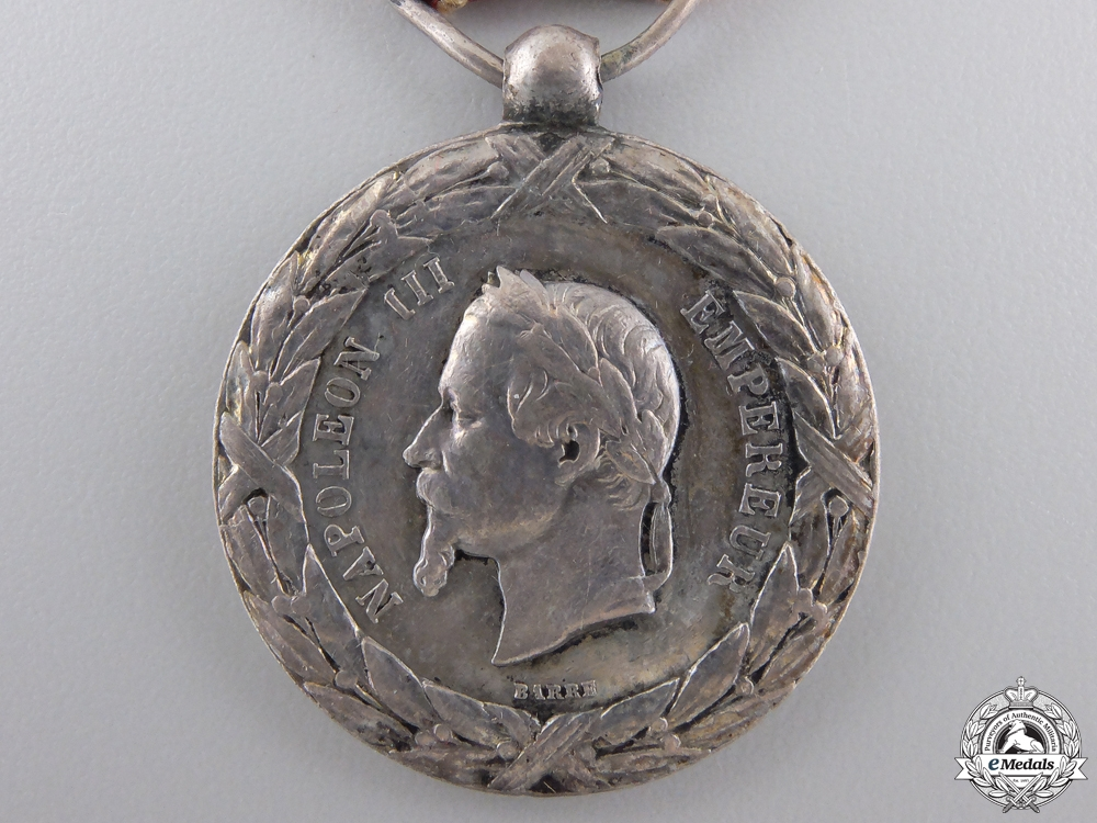 A French Campaign Medal for Italy 1859
