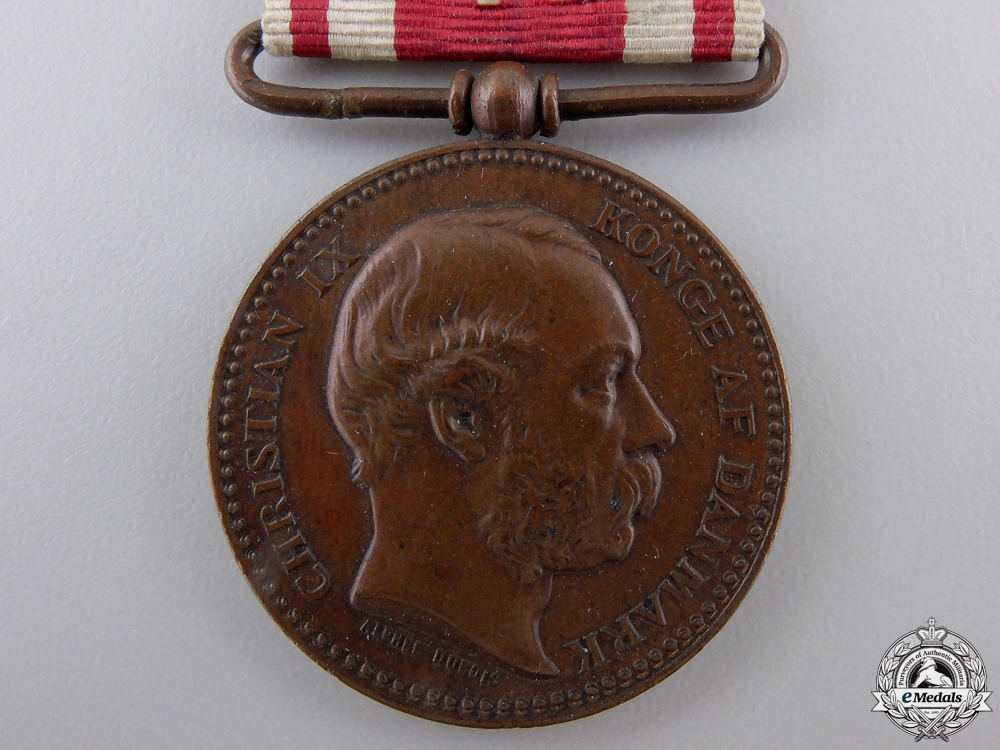 A Danish Campaign Medal for War of 1864