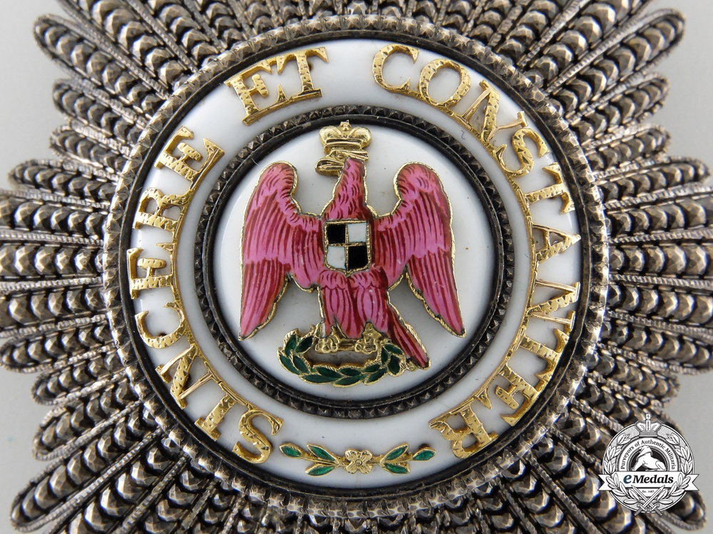 An 1830-54 Prussian Red Eagle Order by Ancne Maison Peck-Oliver