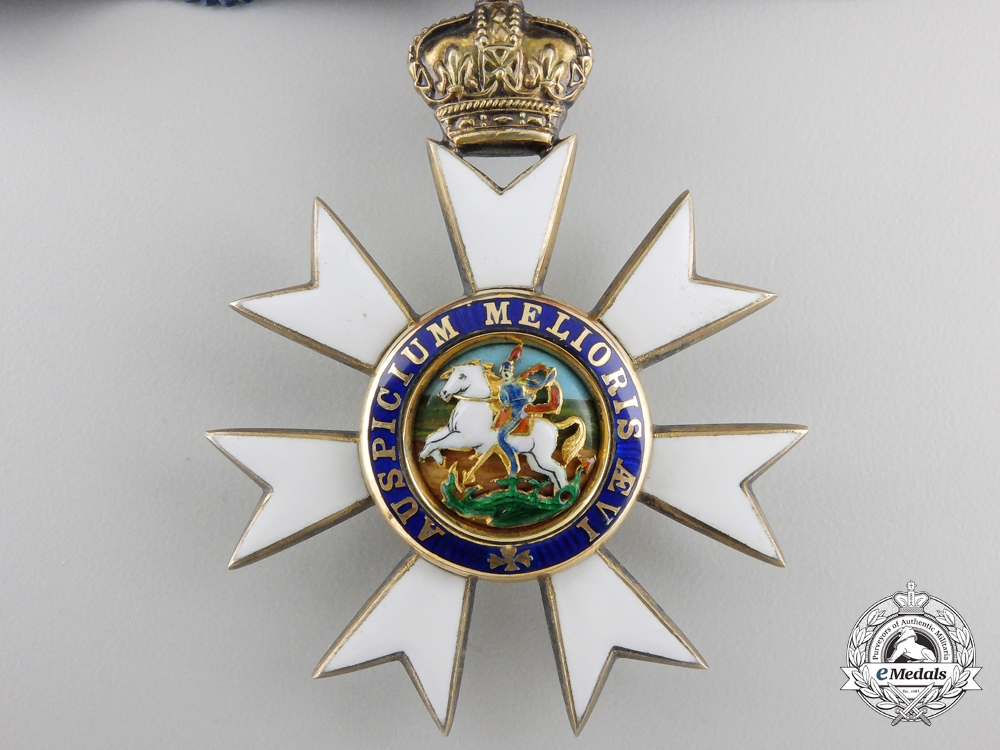 An Order of St. Michael and St. George; Companions Neck Badge