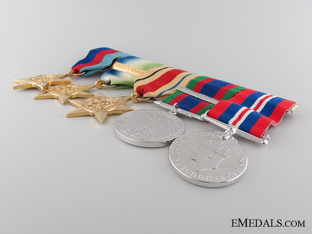 A Canadian WWII Group of Five