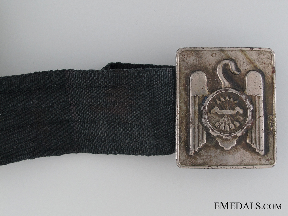Fascist Falangist Youth Belt with Buckle