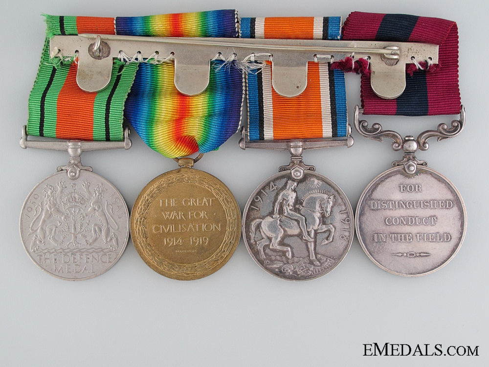 A Rifle Brigade DCM for 1918 Daylight Raid