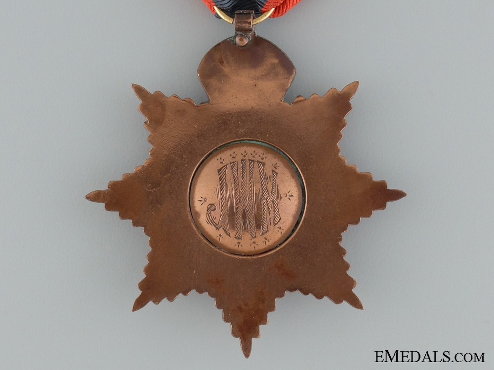 A British Imperial Service Medal to J.W.M.