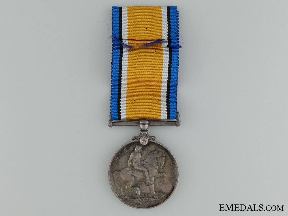 A British War Medal & Badge to the Canadian Tank Corps