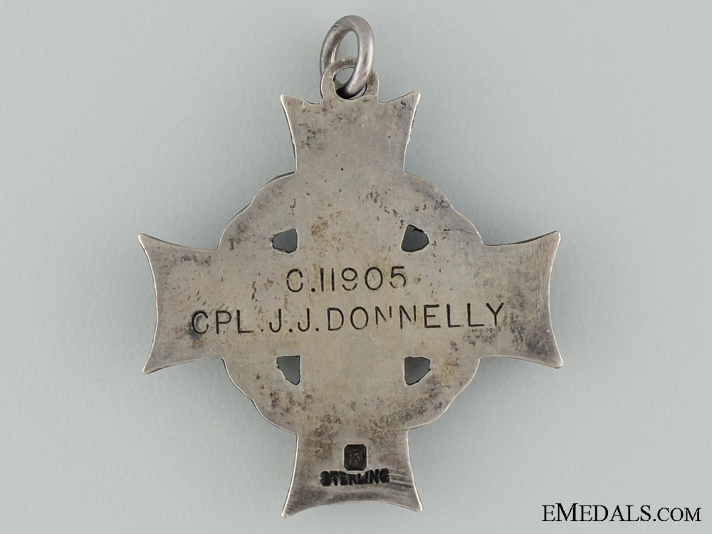 A Second War Memorial Cross to Corporal Donnelly