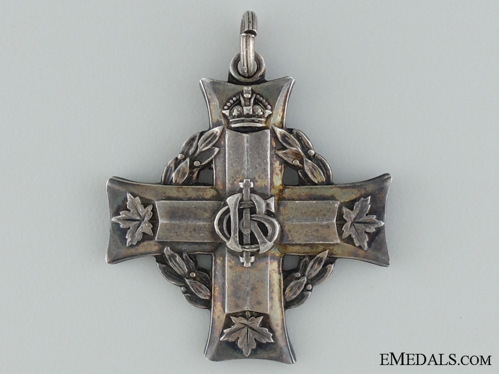 A First War Memorial Cross to to the Royal Montreal Regiment; KIA 1916