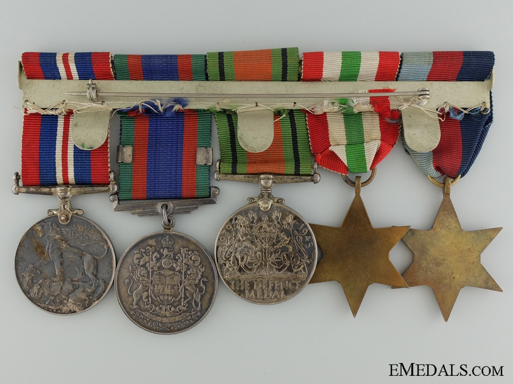 A Second War Canadian Medal Group to the Canadian Artillery