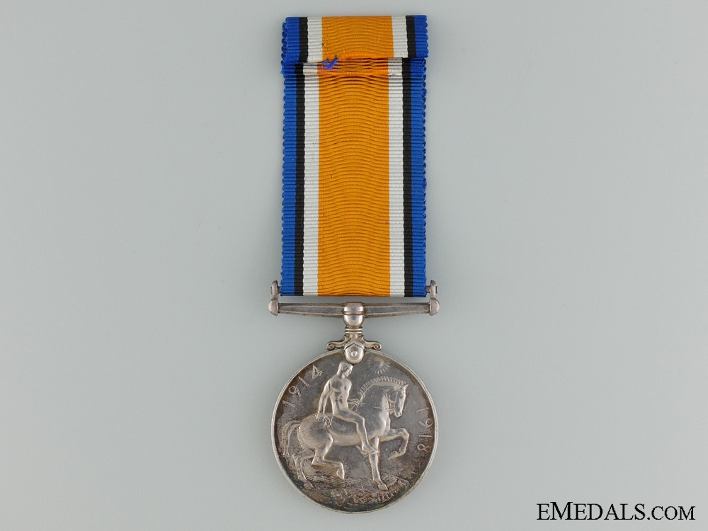 A British War Medal to the 5th Canadian Mounted Rifles CEF